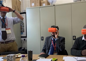 Virtual reality making a difference for young...