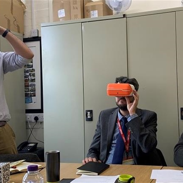 Virtual reality making a difference for young people