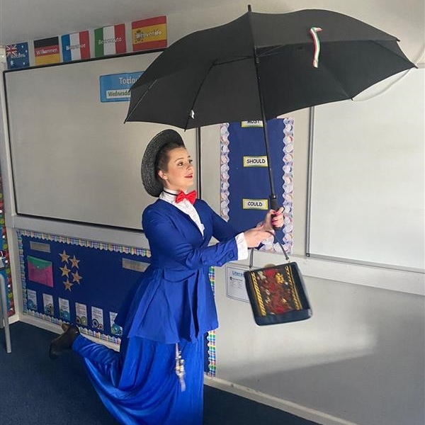 Mary Poppins came to High Peak School
