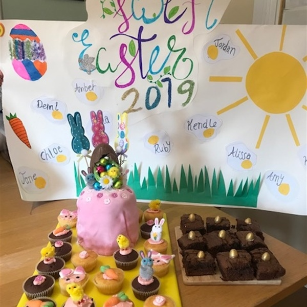 Easter Bake Off at Wings Notts and lots of activities over the Easter break.