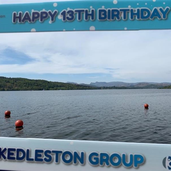 Wings Cumbria make a splash with birthday wishes from the Lakes.