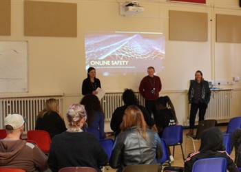 Arc School parents and carers learn out about...
