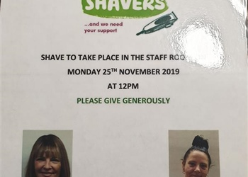 Brave the Shave!