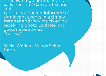 Communication at Wings School Notts