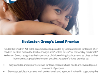 Kedleston Group's Local Promise